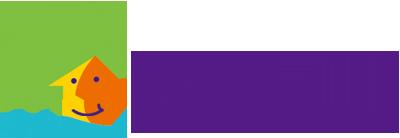溪水旁關懷單親家庭協會 Logo
